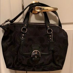Authentic Coach bag and matching wallet .